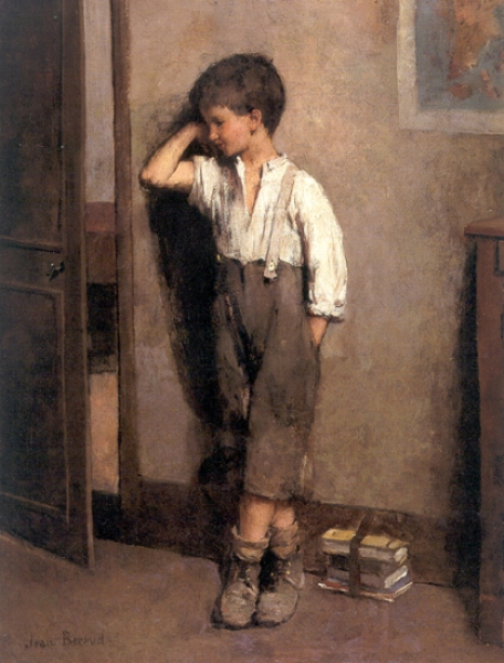 The Penitent Schoolboy