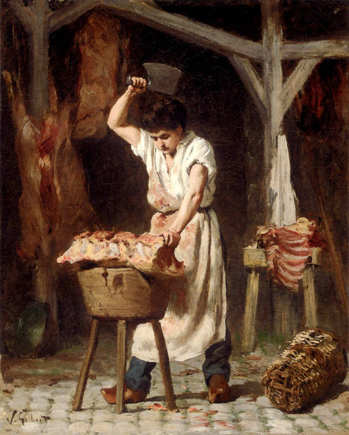 The Young Butcher
