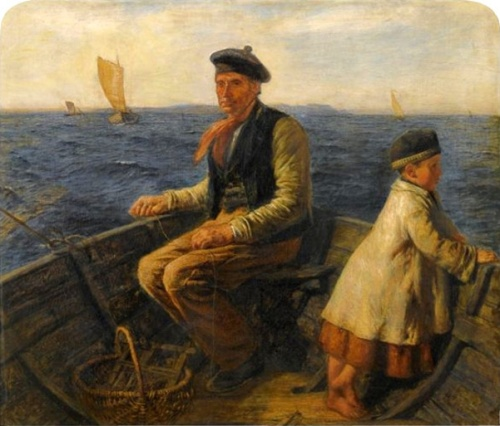 A Mackerel Fisher