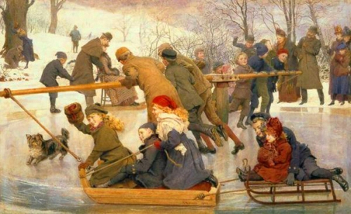A Merry-Go-Round On The Ice