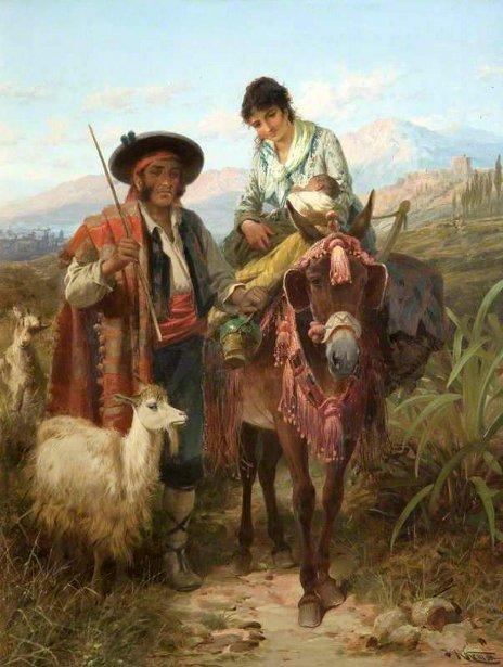 A Muleteer Of Granada