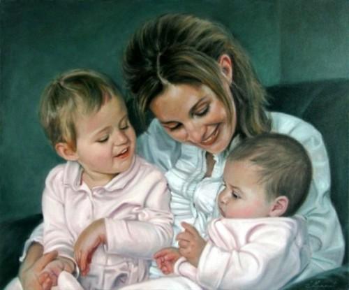 Anne et ses filles