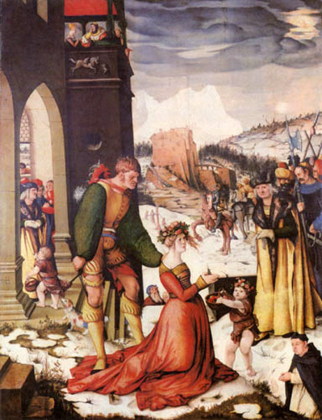 Beheading Of Saint Dorothea