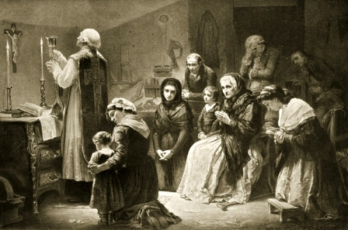 Celebration Of Mass During The French Revolution