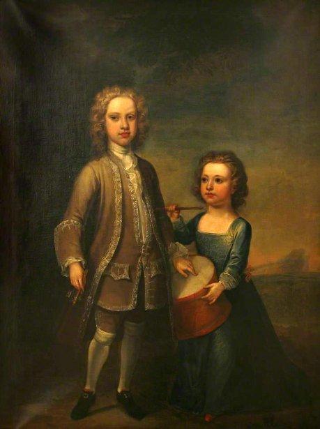 George And Richard, 1st Earl and 2nd Baron of Mount Edgcumbe