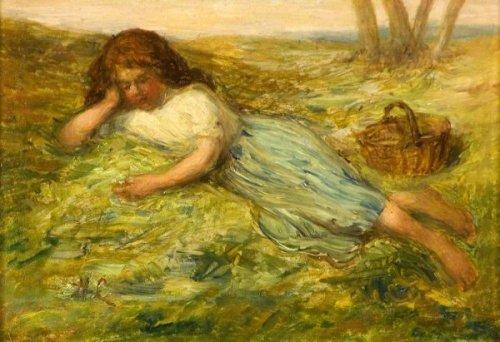 Girl And Basket
