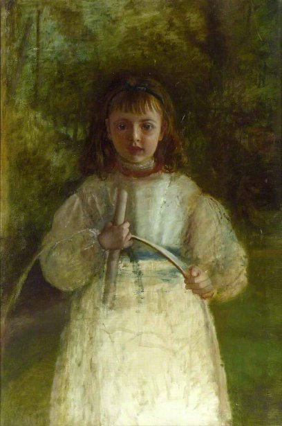 Girl With A Hoop