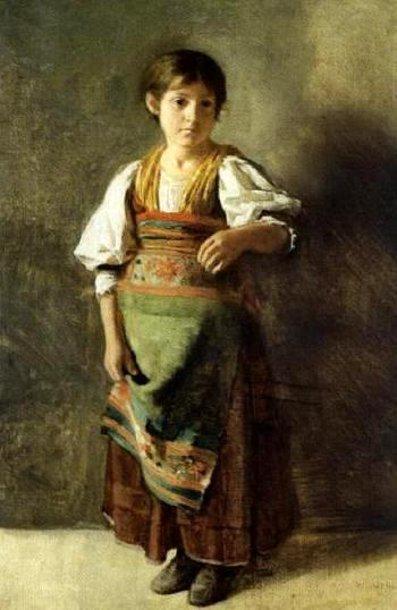 Italian Peasant Girl