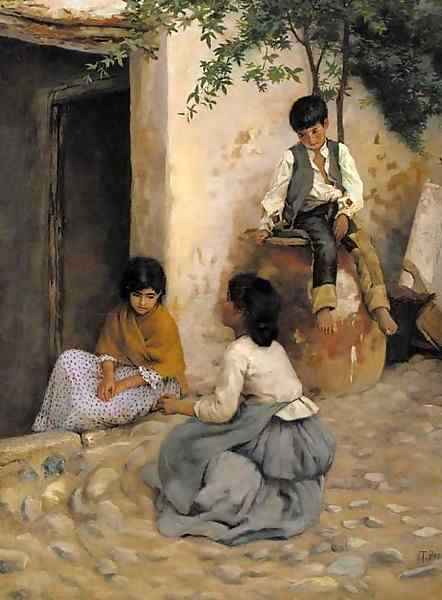 Italian Peasant Girls