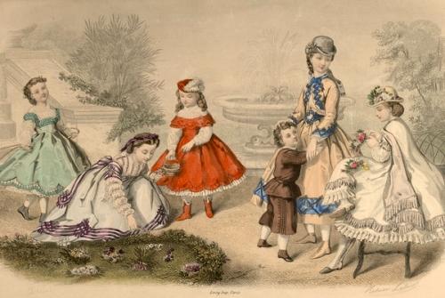La mode illustrée - Costumes d'enfants