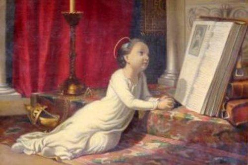 L'enfance de Sainte Elisabeth de Hongrie