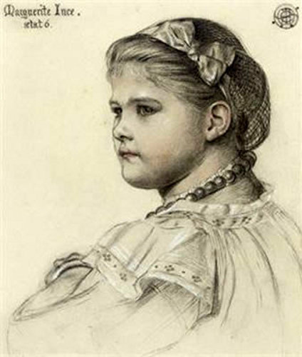Miss Marguerite Ince, Aged Six