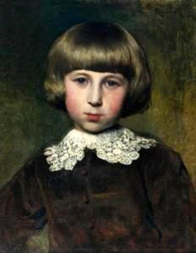 Portrait Of Wladka, The Artist's Son