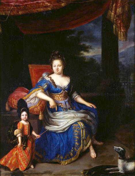 Princess Palatine, Mother Of The Regent