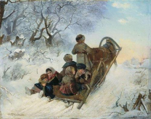 Riding A Sleigh
