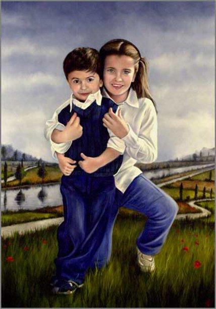 Ritratto di bambini