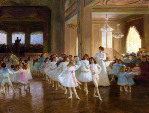 The Children's Dance Recital At The Casino De Dieppe