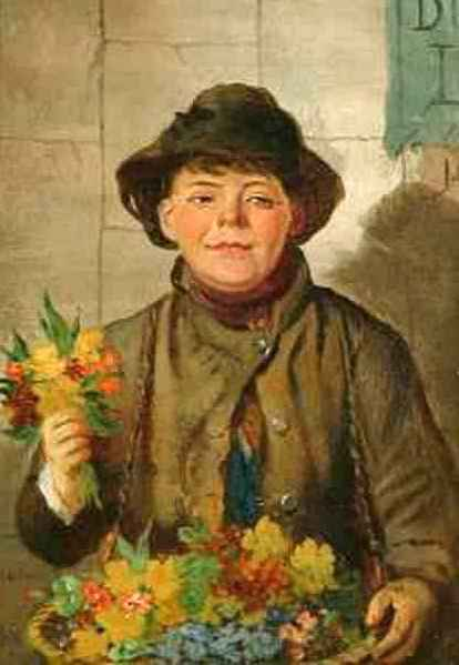 The Little Flower Seller