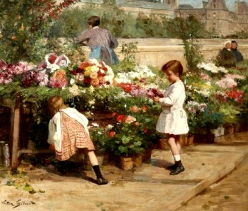 The Young Flower Seller