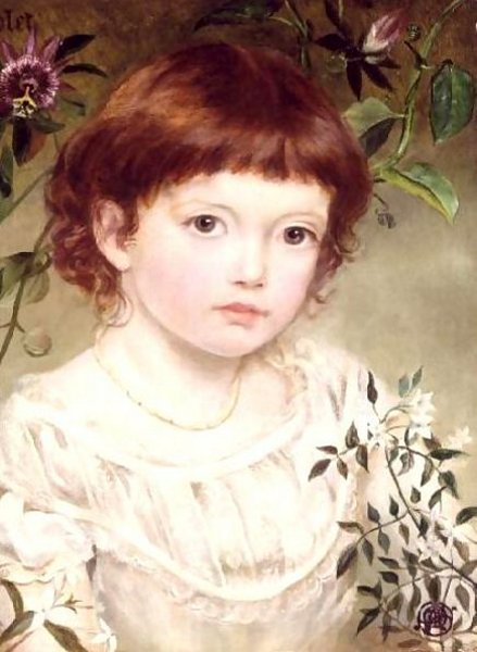 Violet, Portrait Of A Girl