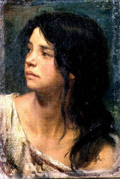 A Dark-Haired Girl