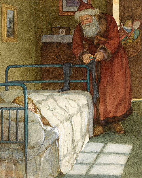 Christmas Eve - A Visit From Father Christmas