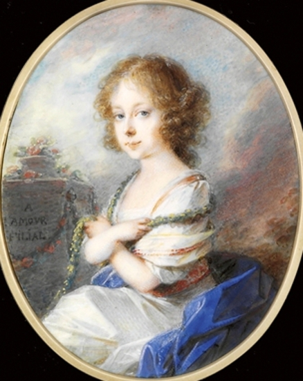 Countess Molly Zichy-Ferraris As A Child