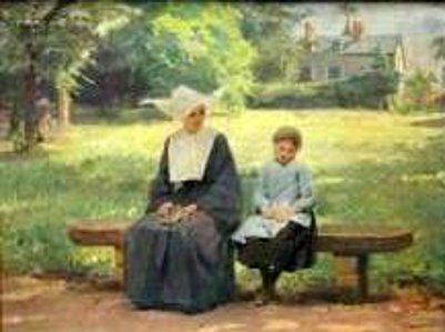 Enfant et religieuse