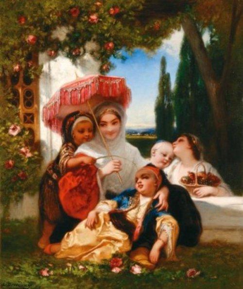 La princesse et ses enfants
