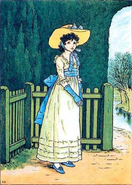 Kate Greenaway 1846 1901 English I Am A Child
