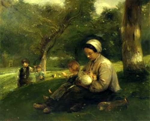 Mère et ses enfants au Saint-Simeon