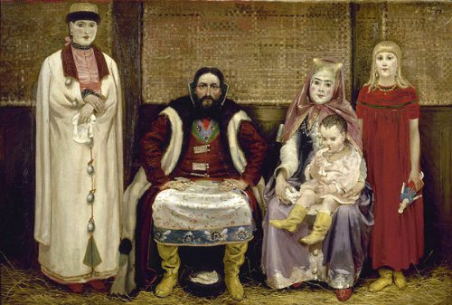Merchant Family In The 17th Century