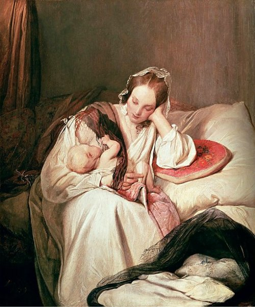 Motherly Love - The Artist's Wife