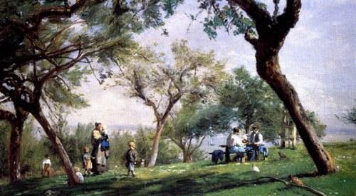 Paysage à Saint-Siméons