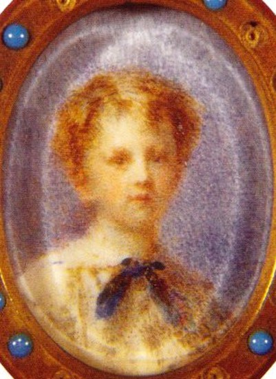 Pierre Troubetzkoj, Aged 8