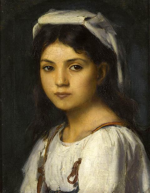Portrait de jeune italienne