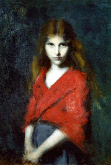 Portrait Of A Young Girl - The Shiverer