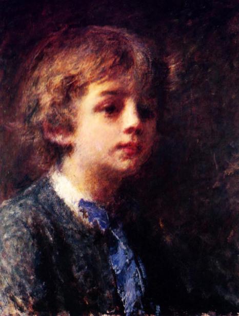 Ritratto di bambino, forse Luigi Troubetzkoj