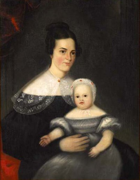 The Clockmakers Wife And Daughter