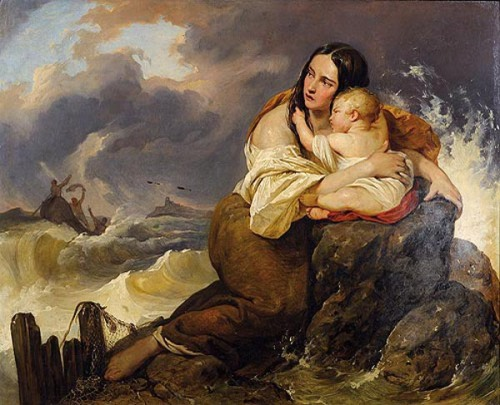 The Fisherman's Wife And Her Child