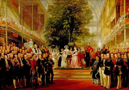 The Opening Of The Great Exhibition By Queen Victoria On May 1, 1851
