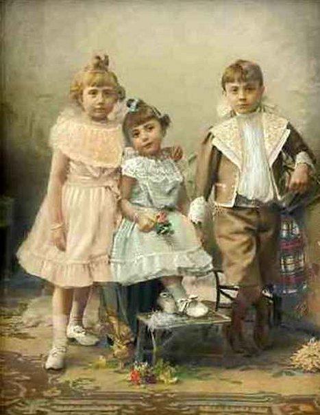 Trois enfants sages