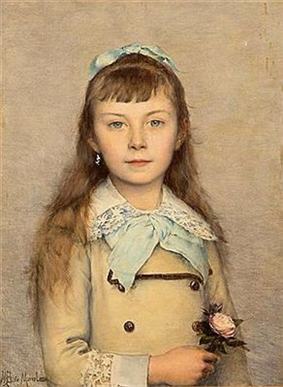 Une Fille French Teenage Fashion For Spring 2016: Louis-Maurice Boutet De Monvel (1851 – 1913, French)