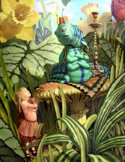 Alice in wonderland cartoon characters-8274