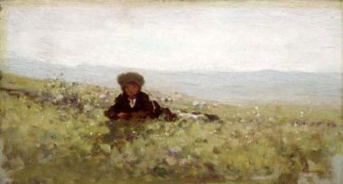 Boy In Field