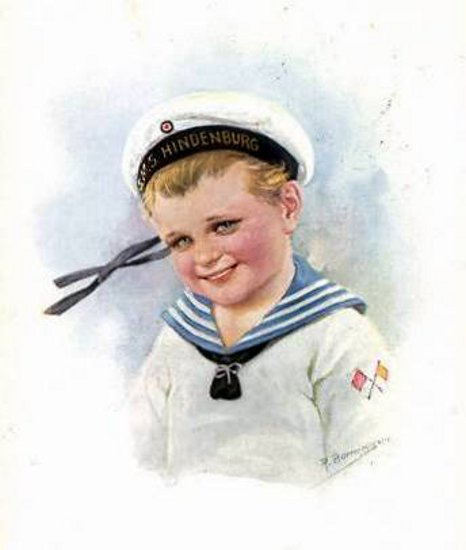 Boy In Sailor Outfit
