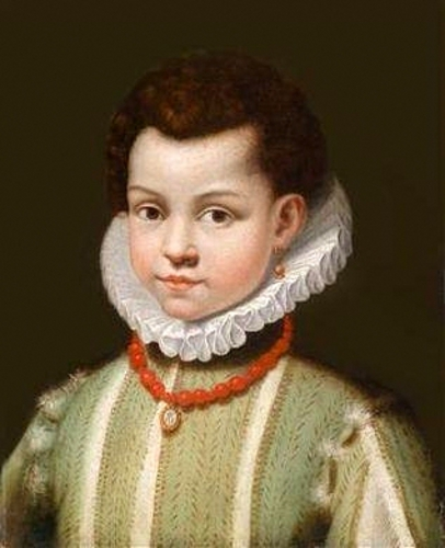 Boy With An Earring (traditionally identified as Principe Don Ferdinando Orsini)