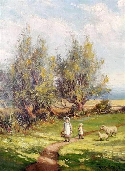 Children On A Country Lane