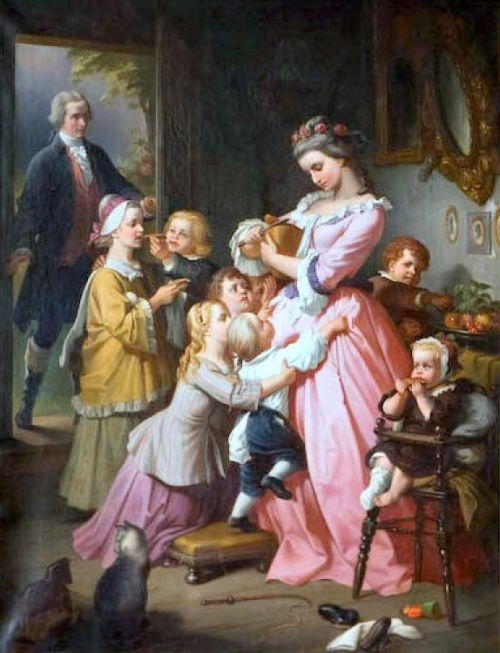 Colonial Family