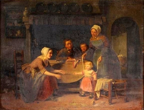 Family Time - Interior Scene